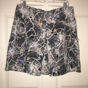 14th & Union Print Skirt